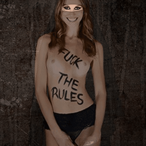 Fuck the Rules by Cecile Plaisance