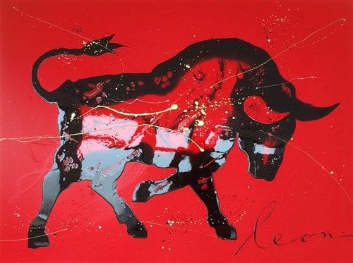 Toro Velocidad painting Leon Bosboom