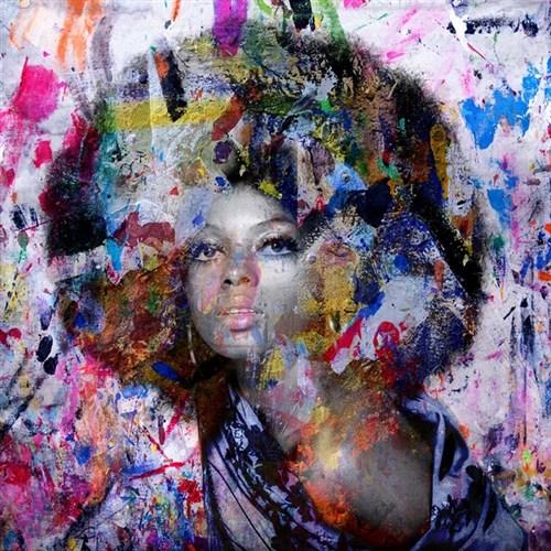 Diana Ross by Karin Vermeer